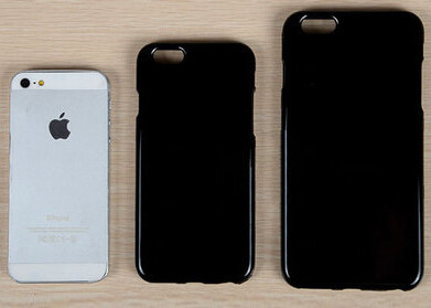 Alleged iPhone 6 cases