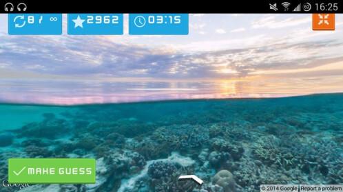 EarthGuesser screenshots