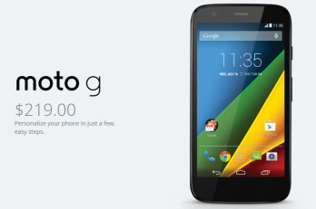 The Motorola Moto G 4G LTE is now available directly from Motorola