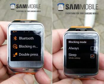 Samsung Gear 2 smartwatch receives update that includes notification muting Blocking Mode