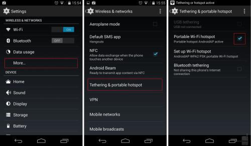 Google Nexus 5 and similar