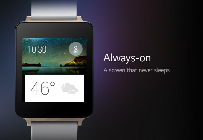 Will the LG G Watch be sold via Google Play?