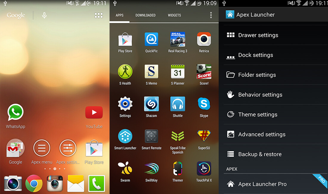 Best, lightest, and most awesome Android launchers - App