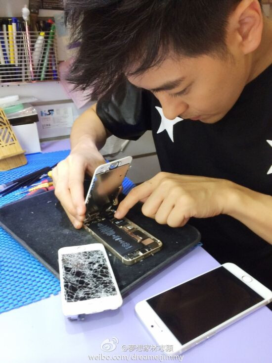 "5.5"" Apple iPhone 6 leaks, as Jimmy Lin strikes again"