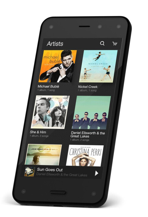 This phone is on fire: Amazon Fire Phone, the retailer's first smartphone, goes official
