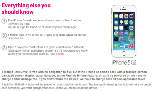 Test Drive the T-Mobile network free, for one week