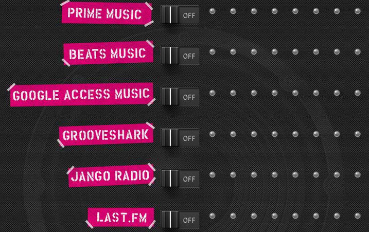"""""""Music Freedom lets you listen to your favorite music streamers for free; not all music streaming apps are supported - T-Mobile's Music Freedom gives you unlimited access to major music streamers for free"""