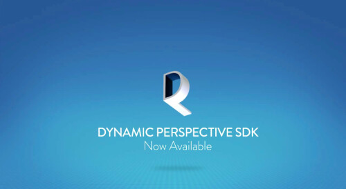 Best of all, the Dynamic Perspective SDK is available to developers to use in their apps and games