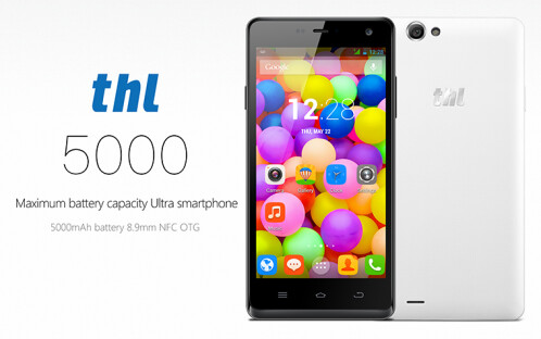 Monsters from Asia: the THL 5000 with its gargantuan, 5000 mAh battery