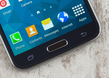 A fingerprint sensor is likely to come embedded in the Note 4's home button