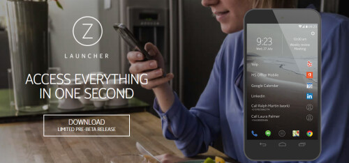 Nokia introduces the Z Launcher for Android