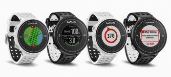 The Garmin S6 syncs to your Apple iPhone or Apple iPad via Bluetooth