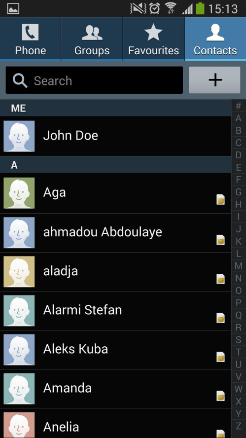 How to get rid of duplicate entries in your Samsung Android device's Contact list