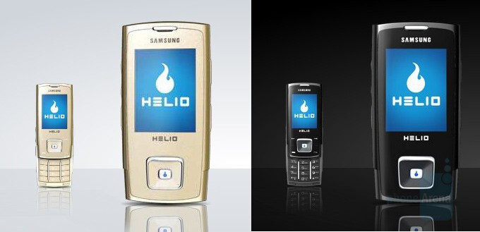 Helio Heat in Gold and Onyx colors - Helio launches the Heat – Samsung A303