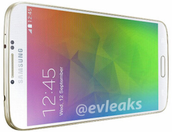 "New Samsung Galaxy F render shows the smartphone's ""glowing gold"" version"