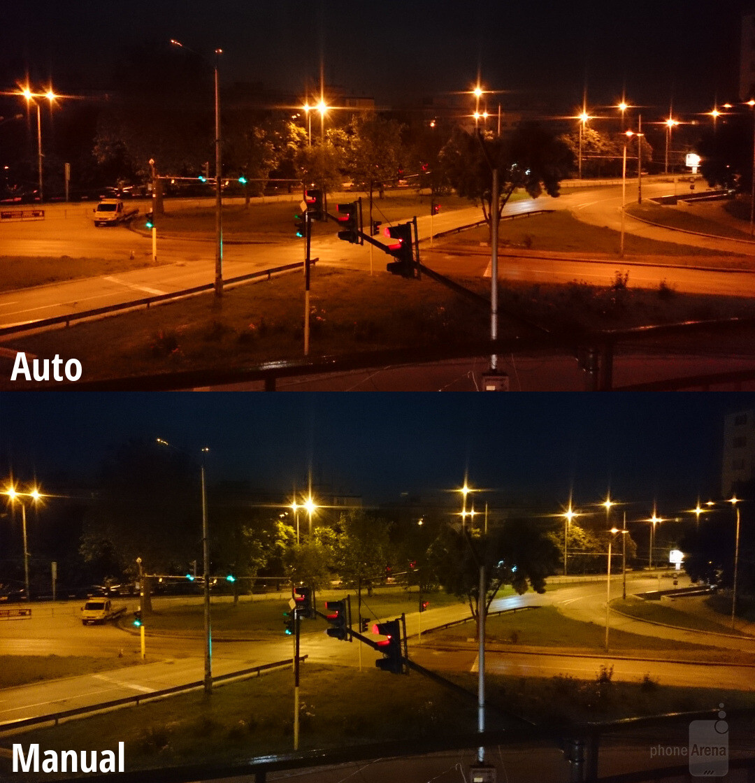 Use Manual mode at night if colors don't look right