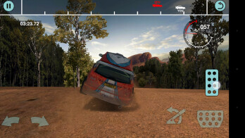 Colin McRae is about speed, but also about not crashing too much
