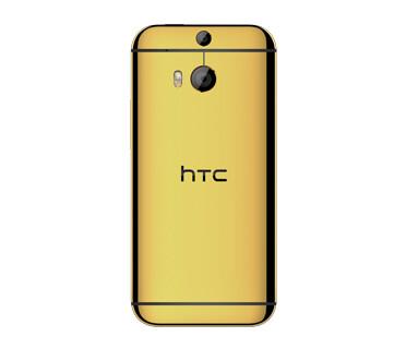 HTC One M8 in Precious Gold