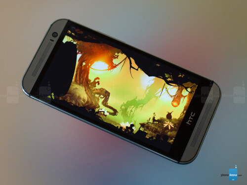 HTC One (M8): gaming sound-ified