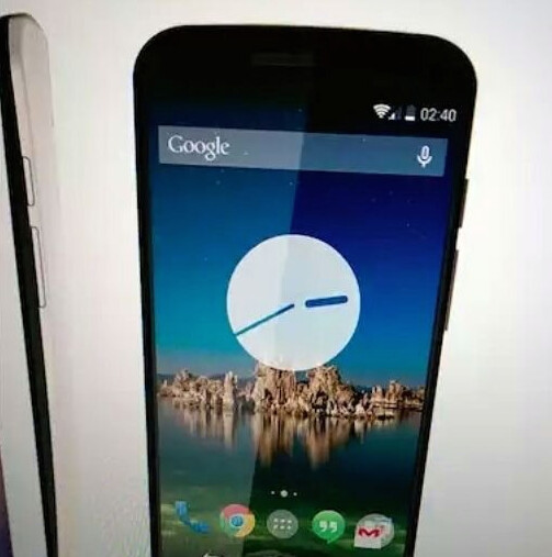Alleged promotional render of Moto X+1