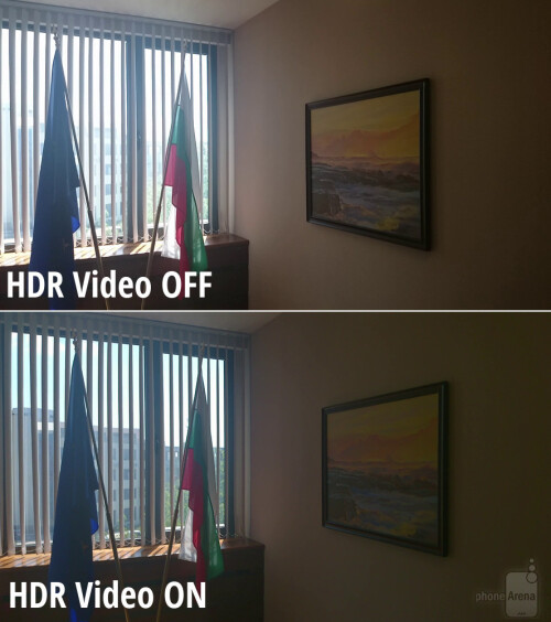 Try the HDR video mode