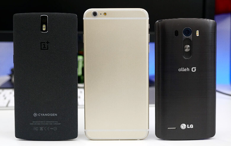 5.5-inch iPhone vs LG G3 and OnePlus One