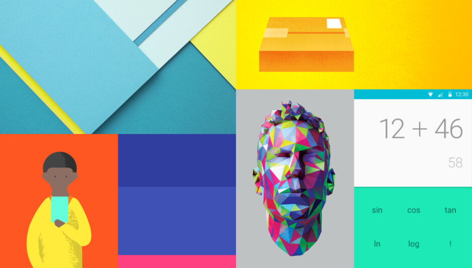 """Material Design - this is the new look of Android """"L Version"""""""