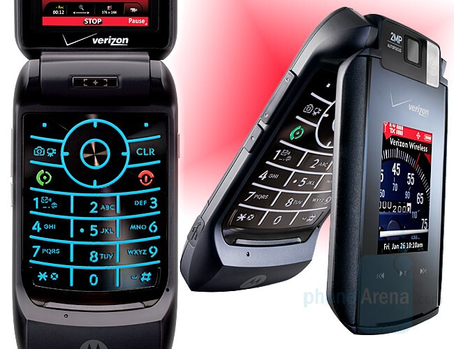 maxx Ve - Motorola announces Maxx Ve and CDMA RIZR Z6m for Verizon