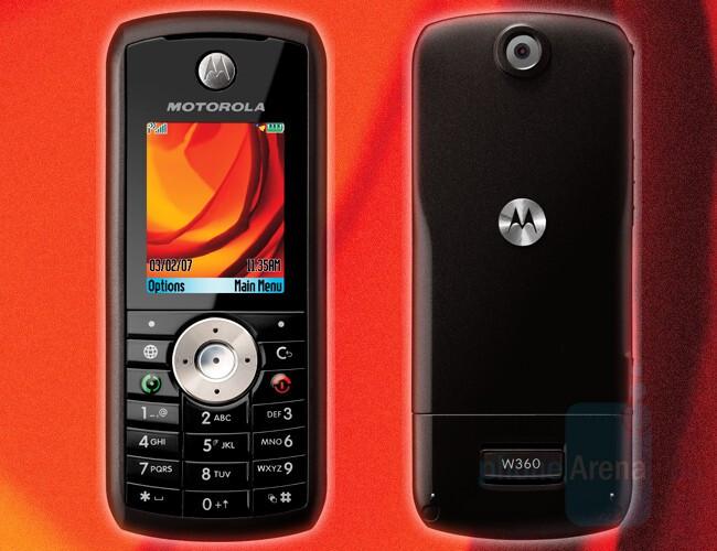 W360 - Candybars - Motorola announces 5 new budget phones
