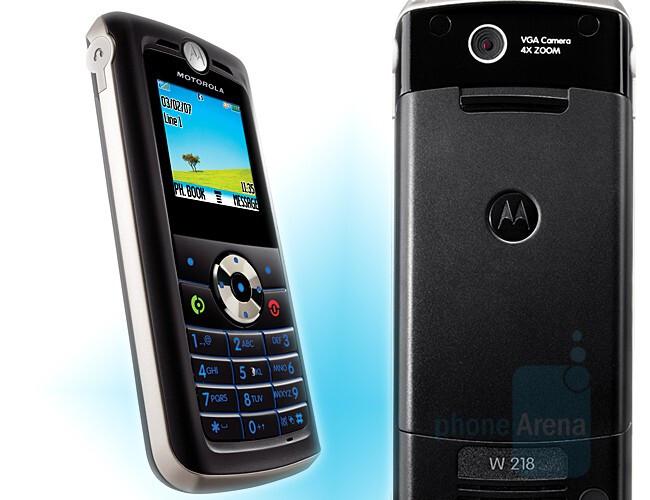 W218 - Candybars - Motorola announces 5 new budget phones