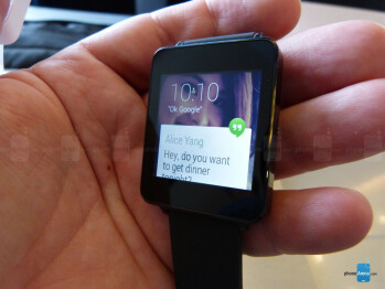 LG G Watch hands-on