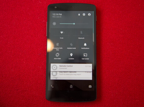 Android L on Nexus 5