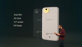 Google to partner with MediaTek on the Android One project