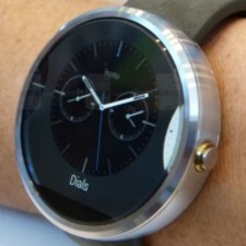One of Moto 360's watch-faces