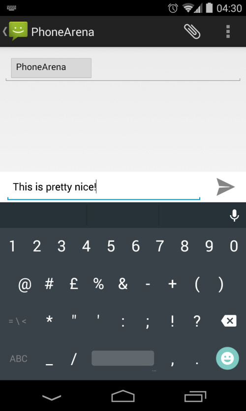 Android L keyboard available to download via Google Play