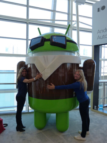 Some images from around Google I/O 2014