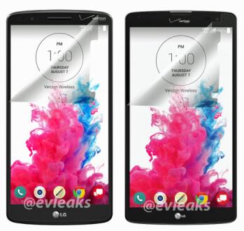 LG G3 (L) and the LG G Vista, both heading for Verizon