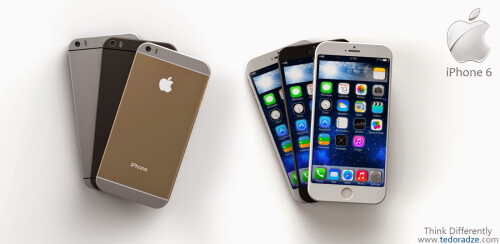 iPhone 6 concept with iOS 9
