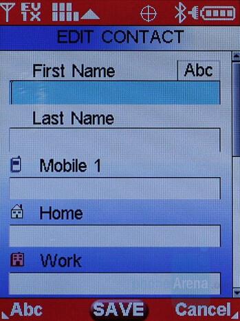 Motorola Maxx Ve Interface