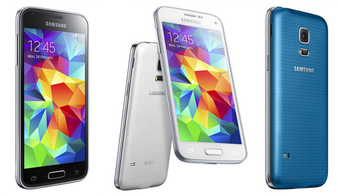 The Samsung Galaxy S5 mini - Samsung Galaxy S5 mini size comparison: more compact than most other minis
