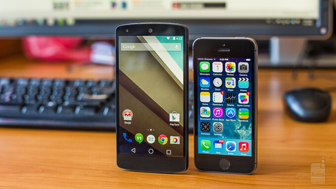 Android L vs iOS 8: first look