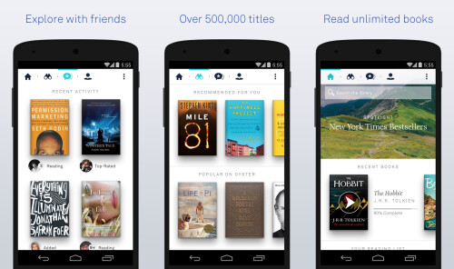Oyster Books - Android - Free