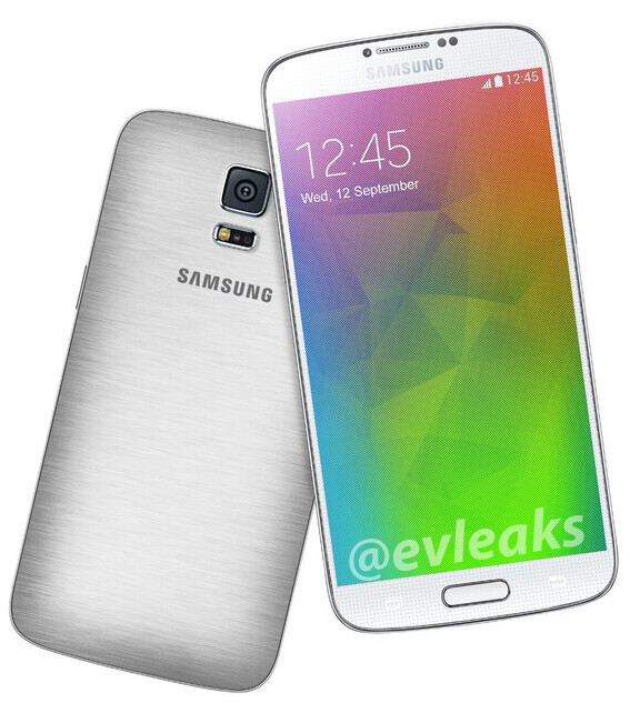 The Samsung Galaxy F in
