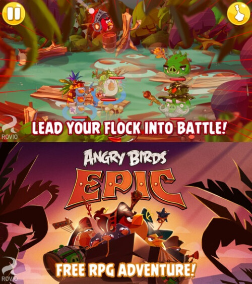 Angry Birds Epic - Android, iOS - Free
