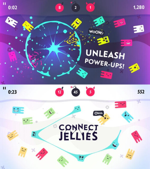 Jellies! - iOS - $1.99 (with in-app purchases)