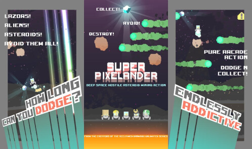 Super Pixelander - Android, iOS - Free