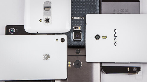 The Oppo Find 7a and Huawei Ascend P7 dominate a camera comparison