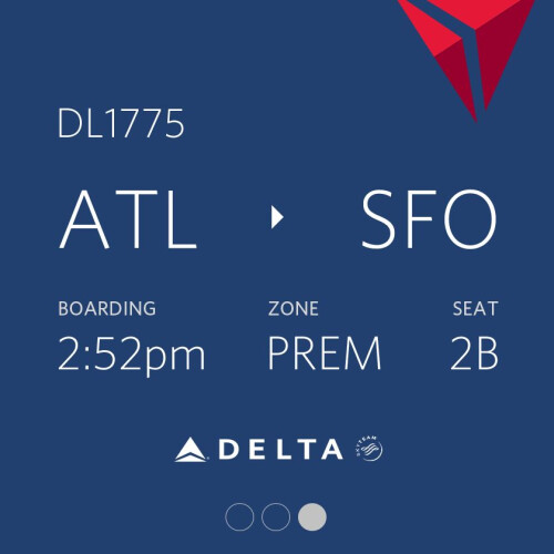 Fly Delta and Android Wear