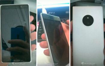 A leak of the supposed Lumia 830