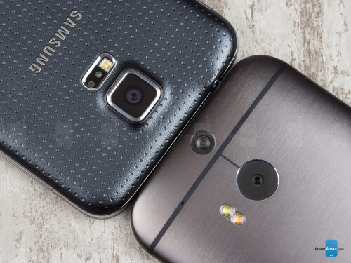Samsung Galaxy S5 vs HTC One (M8): reader's choice